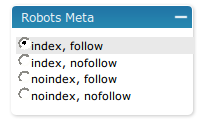 robots meta tags