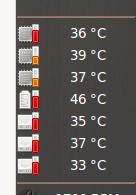 Rechnertemperaturen